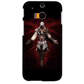 Snooky Printed thor Mobile Back Cover For HTC One M8 - Multicolour