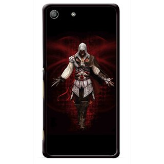 Snooky Printed thor Mobile Back Cover For Sony Xperia M5 - Multicolour