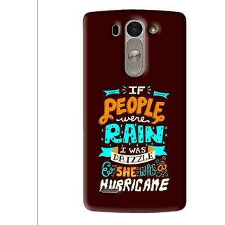 Snooky Printed Monsoon Mobile Back Cover For Lg G3 Beat D722k - Multi