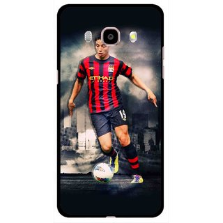 Snooky Printed Football Mania Mobile Back Cover For Samsung Galaxy J5 (2017) - Multicolour