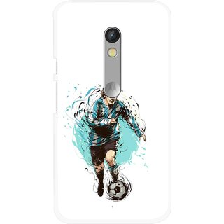 Snooky Printed Have To Win Mobile Back Cover For Motorola Moto X Play - Multi