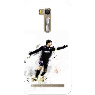 Snooky Printed Pass Me Mobile Back Cover For Asus Zenfone Go ZB551KL - Multi