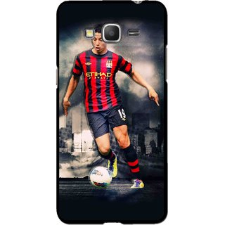 Snooky Printed Football Mania Mobile Back Cover For Samsung Galaxy Grand Max - Multicolour
