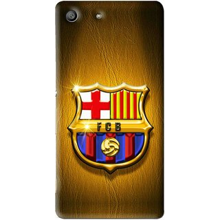 Snooky Printed FootBall Club Mobile Back Cover For Sony Xperia M5 - Multi