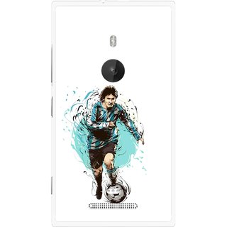 Snooky Printed Have To Win Mobile Back Cover For Nokia Lumia 925 - Multi