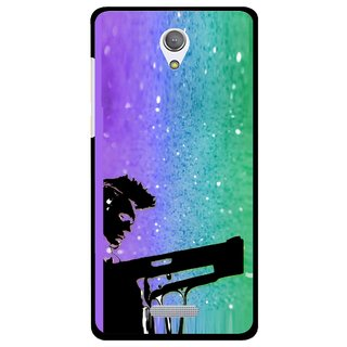 Snooky Printed Sparkling Boy Mobile Back Cover For Gionee Marathon M4 - Multicolour