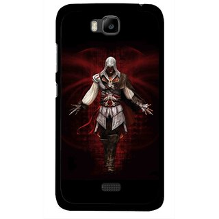 Snooky Printed thor Mobile Back Cover For Huawei Honor Bee - Multicolour