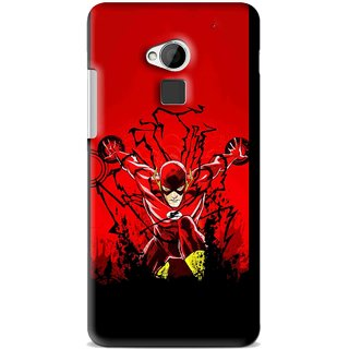 Snooky Printed Super Hero Mobile Back Cover For HTC One Max - Multi
