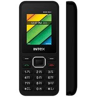 Intex ECO 102+Dual Siam Mobile Phone ( Black Color )