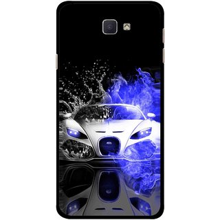 sale retailer 52bab a1a2e Snooky Printed Super Car Mobile Back Cover For Samsung Galaxy J7 Prime -  Multicolour