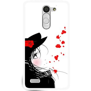Snooky Printed Mistery Girl Mobile Back Cover For Lg L Bello - Multi