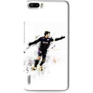 Snooky Printed Pass Me Mobile Back Cover For Huawei Honor 6 Plus - Multi