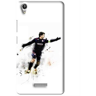 Snooky Printed Pass Me Mobile Back Cover For Lava Pixel V1 - Multi