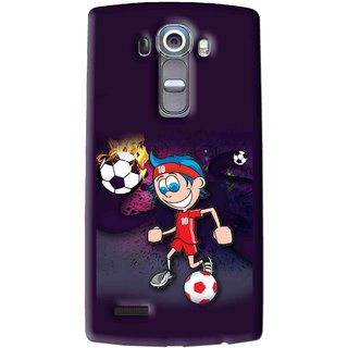 Snooky Printed My Game Mobile Back Cover For Lg G4 - Multi
