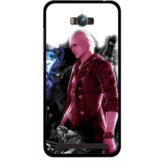 Snooky Printed Fighter Boy Mobile Back Cover For Asus Zenfone Max - Multicolour