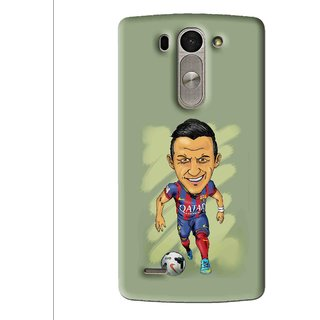 Snooky Printed Hara ke Dikha Mobile Back Cover For Lg G3 Beat D722k - Multi