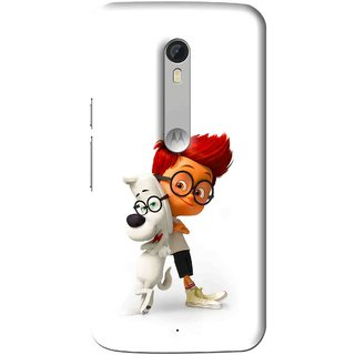 Snooky Printed My Friend Mobile Back Cover For Motorola Moto X Style - Multi