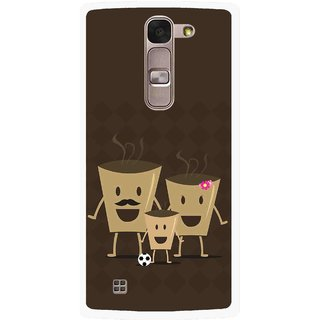 Snooky Printed Wake Up Coffee Mobile Back Cover For Lg Magna - Multi
