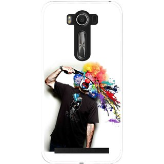 Snooky Printed Shooting Joker Mobile Back Cover For Asus Zenfone 2 Laser ZE500KL - Multi