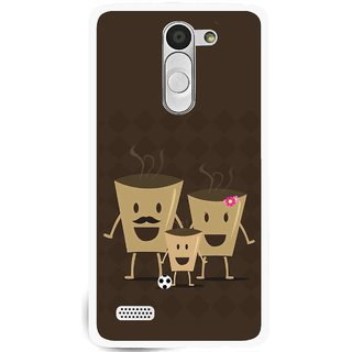 Snooky Printed Wake Up Coffee Mobile Back Cover For Lg L Fino - Multi