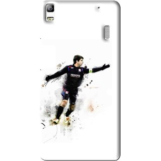 Snooky Printed Pass Me Mobile Back Cover For Lenovo A7000 - Multi