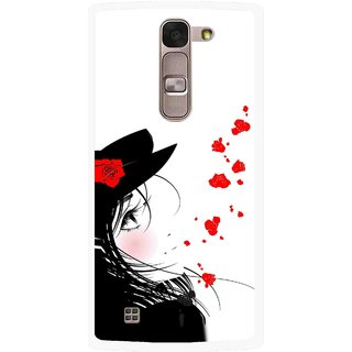 Snooky Printed Mistery Girl Mobile Back Cover For Lg Spirit - Multi