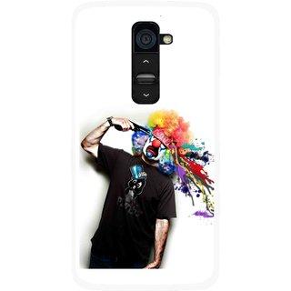 Snooky Printed Shooting Joker Mobile Back Cover For Lg G2 - Multi