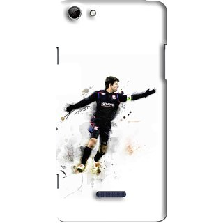 Snooky Printed Pass Me Mobile Back Cover For Micromax Canvas Selfie 3 Q348 - Multi