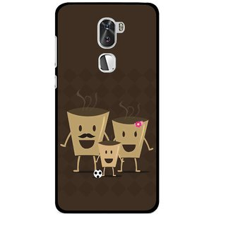 Snooky Printed Wake Up Coffee Mobile Back Cover For Coolpad Cool 1 - Multi