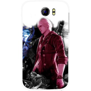 Snooky Printed Fighter Boy Mobile Back Cover For Micromax Canvas 2 A110 - Multicolour