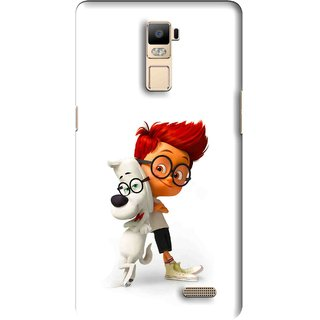 Snooky Printed My Friend Mobile Back Cover For Oppo R7 Plus - Multi