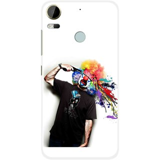 Snooky Printed Shooting Joker Mobile Back Cover For HTC Desire 10 Pro - Multi