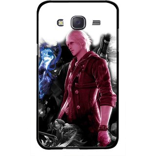 Snooky Printed Fighter Boy Mobile Back Cover For Samsung Galaxy J7 - Multicolour
