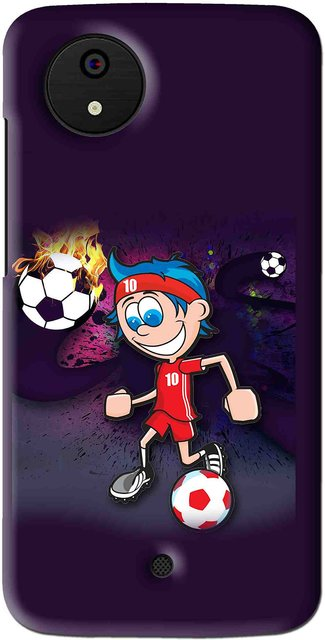 Snooky Printed My Game Mobile Back Cover For Micromax Canvas Android One -  Multi