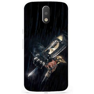 Snooky Printed The Thor Mobile Back Cover For Moto G4 Plus - Multi