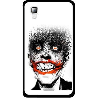 Snooky Printed Joker Mobile Back Cover For Micromax Canvas Doodle 3 A102 - Multicolour