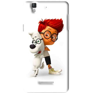 Snooky Printed My Friend Mobile Back Cover For Micromax YU YUREKA - Multi