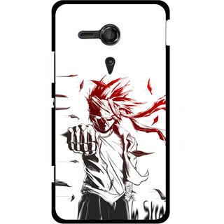 Snooky Printed Marshalat Mobile Back Cover For Sony Xperia SP - Multicolour