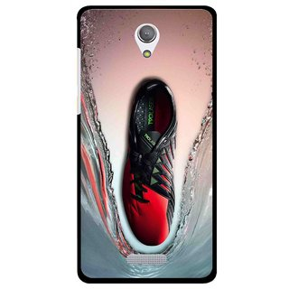 Snooky Printed Water Mobile Back Cover For Gionee Marathon M4 - Multicolour
