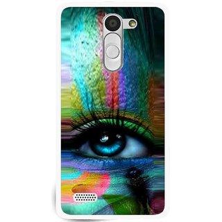 Snooky Printed Designer Eye Mobile Back Cover For Lg L Bello - Multi