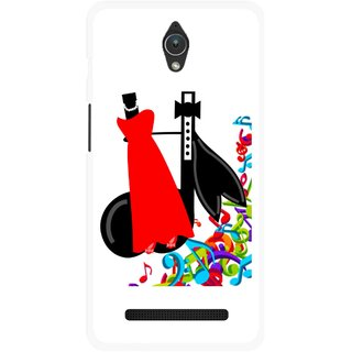 Snooky Printed Fashion Mobile Back Cover For Asus Zenfone C - Multicolour