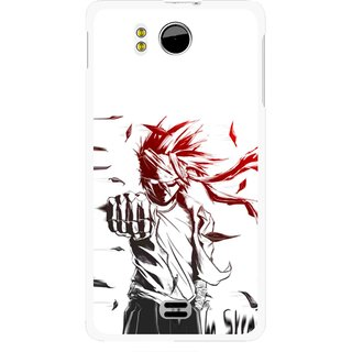 Snooky Printed Marshalat Mobile Back Cover For Micromax Canvas DOODLE A111 - Multicolour