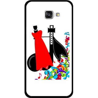 Snooky Printed Fashion Mobile Back Cover For Samsung Galaxy A7 2016 - Multicolour