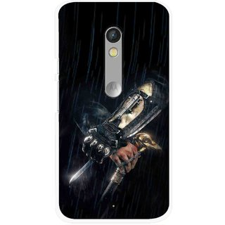Snooky Printed The Thor Mobile Back Cover For Motorola Moto X Play - Multi
