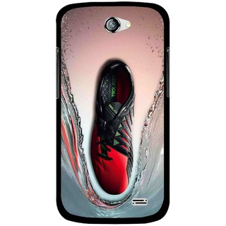 Snooky Printed Water Mobile Back Cover For Gionee Pioneer P2 - Multicolour