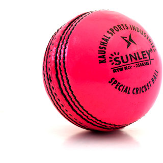 sunley pink leather ball pack of 1 piece