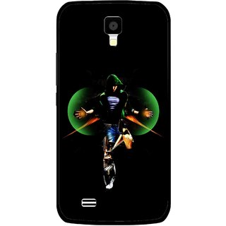 Snooky Printed Hero Mobile Back Cover For Gionee Pioneer P2S - Multicolour