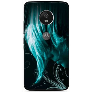 Snooky Printed Mistery Boy Mobile Back Cover For Moto G5 - Multi