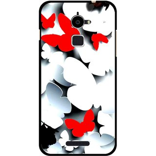 Snooky Printed Butterfly Mobile Back Cover For Coolpad Note 3 Lite - Multi