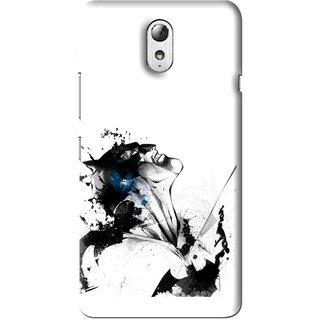 Snooky Printed Super Hero Mobile Back Cover For Lenovo Vibe P1M - Multi